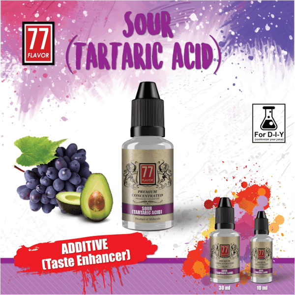 Additif  SOUR Berries (Tartaric Acid) 77 Flavor