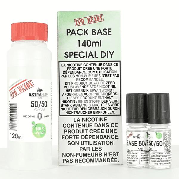 Pack DIY 50% PG / 50% VG Extrapure 140ml