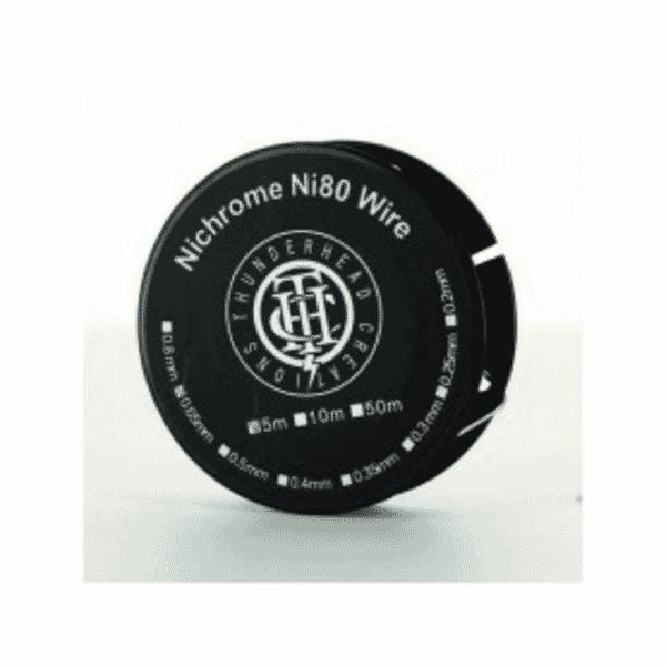 Nichrome 80 Wire 22ga Thunderhead